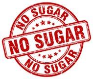 ingen röd stämpel för socker Royaltyfria Foton