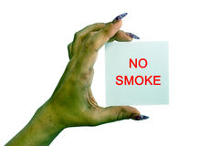 ingen rök Arkivfoto