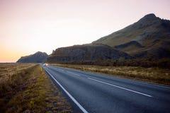 Ingen ringled 1 i Island afton Royaltyfri Foto