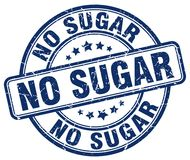 ingen sockerblåttstämpel Arkivbild