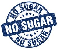 ingen sockerblåttstämpel Royaltyfri Bild
