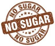 ingen sockerbruntstämpel Royaltyfri Bild