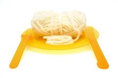 ingen spagetti Arkivfoton