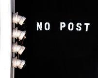 ingen stolpevägg fotografering för bildbyråer