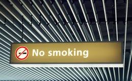ingen teckenrökning arkivfoton
