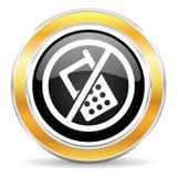 ingen telefon Fotografering för Bildbyråer