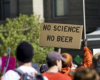 Ingen vetenskap inget öl Arkivfoton