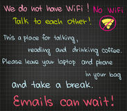 Ingen WiFi Arkivfoton
