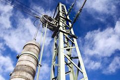 Ingeniería eléctrica II Fotos de archivo libres de regalías