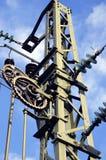 Ingeniería eléctrica V Foto de archivo libre de regalías