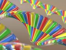 Ingeniería genética de la DNA Imagenes de archivo