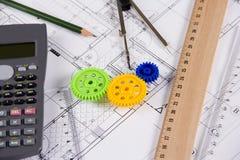 Ingeniería industrial Imagen de archivo libre de regalías