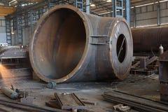 Ingeniería pesada - fabricación Fotografía de archivo libre de regalías