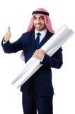 Ingeniero árabe fotos de archivo