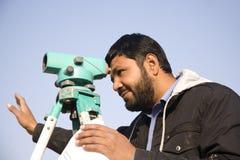 Ingeniero civil Foto de archivo libre de regalías