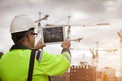 Ingeniero de construcción Fotos de archivo