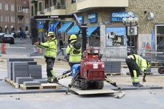 Ingeniero de construcción Workers Fotografía de archivo libre de regalías