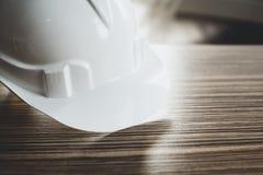Ingeniero de seguridad Helmet Gear Foto de archivo