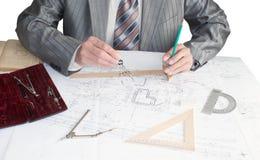 Ingeniero-diseñador Foto de archivo libre de regalías