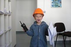 Ingeniero futuro Foto de archivo libre de regalías