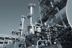 Ingeniero, petróleo, combustible y gas Imágenes de archivo libres de regalías