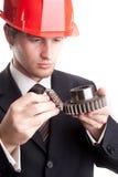 Ingenieur überprüfen Gänge Lizenzfreie Stockbilder