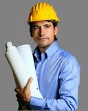 Ingenieur op het werk Royalty-vrije Stock Afbeelding