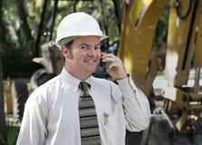 Ingenieur op Plaats Stock Fotografie