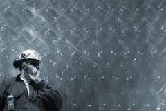 Ingenieur- und Metallkonzept Lizenzfreies Stockfoto