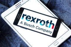 Ingenieurbürologo Bosch Rexroth lizenzfreies stockbild