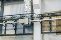 Ingenieurdienstleistungen in einem Gebäude Stockfotos