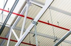 Ingenieurdienstleistungen in einem Gebäude Lizenzfreies Stockbild
