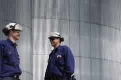 Ingenieure und Stahl Stockfoto