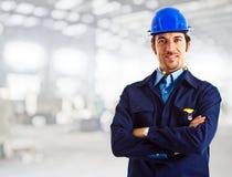 Ingenieurporträt Stockbilder