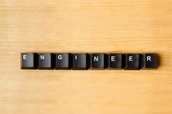 Ingenieurswoord Royalty-vrije Stock Afbeelding
