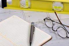 Ingenieurzeichnungen 1 Lizenzfreie Stockbilder