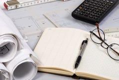 Ingenieurzeichnungen 2 Lizenzfreie Stockfotos