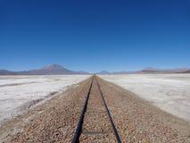 ingenstans järnväg till Arkivbild