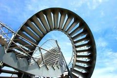 ingenstans trappa 1 till Arkivfoto
