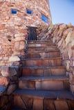 ingenstans trappa till Royaltyfria Foton