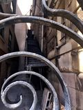 ingenstans trappa till Fotografering för Bildbyråer