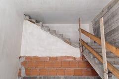 ingenstans trappuppgång till arkivfoto