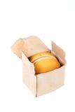 Ingepakte hamburger royalty-vrije stock foto's
