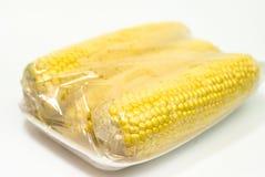 Ingepakte verse maïs Royalty-vrije Stock Foto's