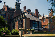 Ingestre Hall. Former home of the Earl of Shrewsbury royalty free stock photo