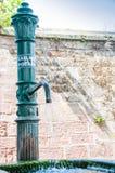 Inget dricksvatten i en springbrunn Royaltyfria Foton
