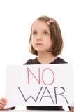 Inget krig Royaltyfri Bild