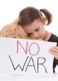 Inget krig Arkivbild