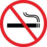 Inget - röka vektor illustrationer