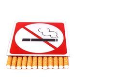 Inget - röka Arkivbild